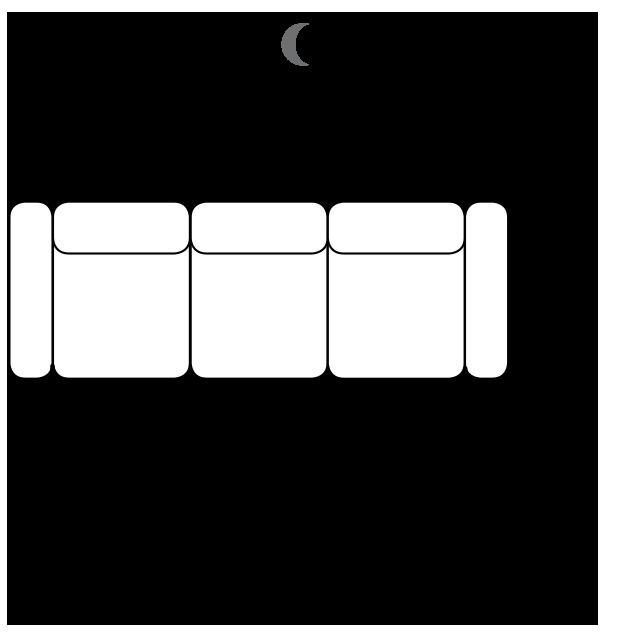 Диван Fino - Gala Collezione - Размери